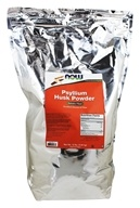 NOW Foods - Psyllium Husk Powder Mega Pack - 12 lbs. (733739059765)