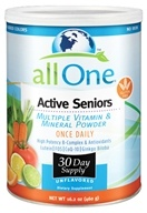 All One - Active Seniors Multiple Vitamin and Mineral Powder - 15.9 oz.