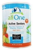 All One - Active Seniors Multiple Vitamin and Mineral Powder - 2.2 lbs. (052534400108)
