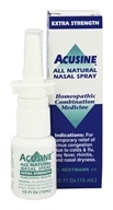 Image of Acusine - Nasal Spray All Natural Extra Strength - 0.5 Oz.
