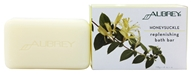 Image of Aubrey Organics - Honeysuckle Replenishing Bath Bar - 4 oz. Formerly Honeysuckle Rose Vegetal Soap
