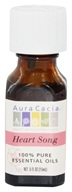 Image of Aura Cacia - Essential Oil Blends Heart Song - 0.5 oz.
