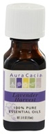Image of Aura Cacia - Essential Oil Lavender Harvest - 0.5 oz.