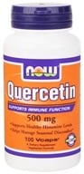 NOW Foods - Quercetin 500 mg. - 100 Vegetarian Capsules