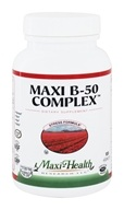 Maxi-Health Research Kosher Vitamins - Maxi B-50 Complex - 100 Capsules (753406075102)