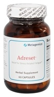 Metagenics - Adreset Adrenal Support Formula - 60 Capsules - $34.50