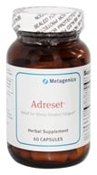 Metagenics - Adreset Adrenal Support Formula - 60 Capsules, from category: Professional Supplements