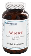 Metagenics - Adreset Adrenal Support Formula - 180 Capsules, from category: Professional Supplements