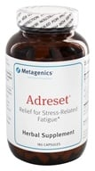 Metagenics - Adreset Adrenal Support Formula - 180 Capsules - $94.25