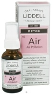 Liddell Laboratories - Air Pollution Homeopathic Oral Spray - 1 oz.