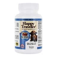 Image of Ark Naturals - Happy Traveler Pet Calmer For Cats & Dogs - 30 Capsules