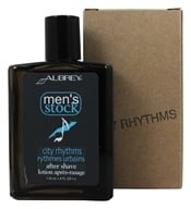 Aubrey Organics - Men's Stock City Rhythms After Shave - 4 oz. (749985440127)
