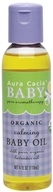 Aura Cacia - Baby Calming Baby Oil - 4 oz. CLEARANCE PRICED