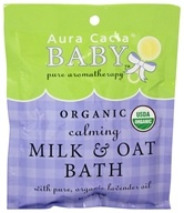 Aura Cacia - Baby Calming Milk & Oat Bath - 1.75 oz. (051381887087)