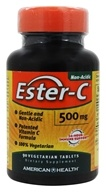 American Health - Ester-C 500 mg. - 90 Vegetarian Tablets by American Health