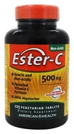 Image of American Health - Ester-C 500 mg. - 225 Vegetarian Tablets