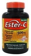 American Health - Ester C 500 mg. - 225 Vegetarian Tablets