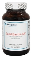 Metagenics - Candibactin-AR - 120 Softgels - $67.95
