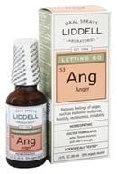 Liddell Laboratories - Ang Letting Go Anger Homeopathic Oral Spray - 1 oz. by Liddell Laboratories