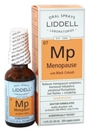 Image of Liddell Laboratories - Mp Menopause with Black Cohosh Homeopathic Oral Spray - 1 oz.