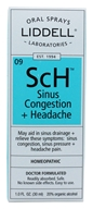 Image of Liddell Laboratories - SCh Sinus Congestion + Headache with Echinacea Homeopathic Oral Spray - 1 oz.