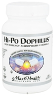 Image of Maxi-Health Research Kosher Vitamins - Hi-Po Dophilus High Potency Acidophilus Formula - 60 Capsules CLEARANCED PRICED