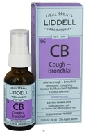 Liddell Laboratories - CB Cough + Bronchial Homeopathic Oral Spray - 1 oz.