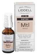 Liddell Laboratories - Mtl Detox Metals Homeopathic Oral Spray - 1 oz. (363113261967)