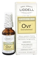 Liddell Laboratories - Ovr Letting Go Overwhelmed Homeopathic Oral Spray - 1 oz. - $12.05