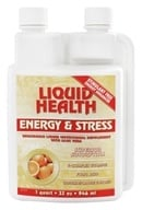Liquid Health - Energy & Stress Tangerine/Orange Flavored - 32 oz. Formerly Liquid Supplement by Liquid Health