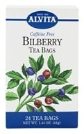 Alvita - Bilberry Caffeine Free - 24 Tea Bags, from category: Teas