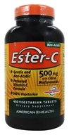 American Health - Ester-C with Citrus Bioflavonoids 500 mg. - 450 Vegetarian Tablets - $25.99