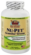 Ark Naturals - Nu-Pet Granular Greens For Pets - 240 Grams - $13.07