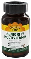 Country Life - Seniority Adult Multiple Multi-Vitamin with Digestive Enzymes - 120 Vegetarian Capsules - $19.79