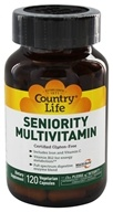 Image of Country Life - Seniority Adult Multiple Multi-Vitamin with Digestive Enzymes - 120 Vegetarian Capsules