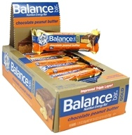 Balance - Nutrition Energy Bar Gold Chocolate Peanut Butter - 1.76 oz., from category: Nutritional Bars