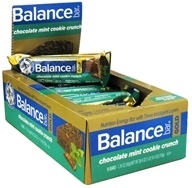 Balance - Nutrition Energy Bar Gold Crunch Chocolate Mint Cookie - 1.76 oz., from category: Nutritional Bars