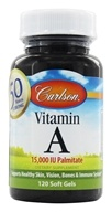 Carlson Labs - Vitamin A Palmitate 15000 IU - 120 Softgels, from category: Vitamins & Minerals