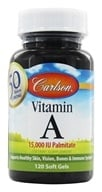 Carlson Labs - Vitamin A Palmitate 15000 IU - 120 Softgels (088395011016)