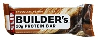 Clif Bar - Builder's Protein Crisp Bar Peanut Butter - 2.4 oz., from category: Sports Nutrition