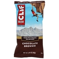 Clif Bar - Energy Bar Chocolate Brownie - 2.4 oz., from category: Nutritional Bars