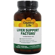 Image of Country Life - Liver Support Factors Formula XVI - 100 Tablets Formerly Biochem Formula XVI