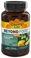 Country Life - Maxi-Sorb Beyond Food Multi-Vitamin & Mineral - 120 Vegetarian Capsules, from category: Vitamins & Minerals