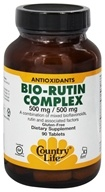 Country Life - Bio-Rutin Complex - 90 Vegetarian Tablets LUCKY DEAL