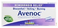 Boiron - Avenoc Suppositories - 12 Suppositories by Boiron