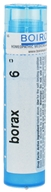 Boiron - Borax 6 C - 80 Pellets, from category: Homeopathy