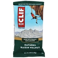 Clif Bar - Energy Bar Oatmeal Raisin Walnut - 2.4 oz., from category: Nutritional Bars