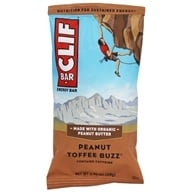 Image of Clif Bar - Energy Bar Peanut Toffee Buzz - 2.4 oz.