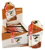Clif Bar - Shot Energy Gel with Caffeine Mocha - 1.2 oz.