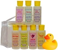 California Baby - Bubble Bath Tote with Toy 7 count - 2 oz.